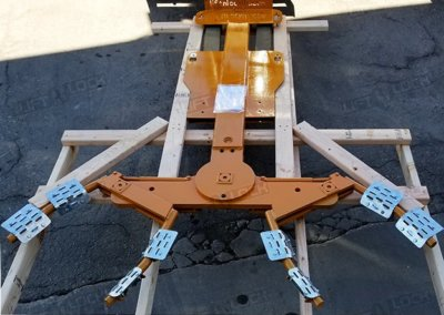forklift towing attachment delivery condition