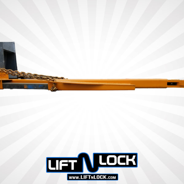forklift tube angle forklift towing attachment