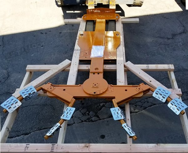 forklift wheel lift delivery condition
