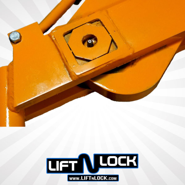 recessed grease fittings forklift towing attachment